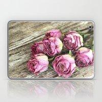 Dried Pink Roses Laptop & iPad Skin