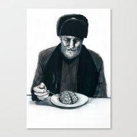 Recipe For Survival Canvas Print