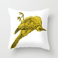 Throw Pillow featuring Silence by PAFF