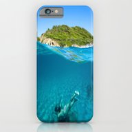 St Tropez Sea Three iPhone 6 Slim Case