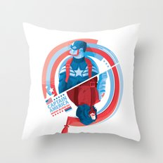 The Winter Soldier Throw Pillow