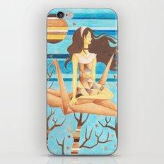 Crane Girl iPhone & iPod Skin