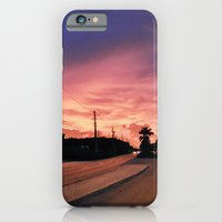 iPhone & iPod Case featuring Miami Sunrise by Sookie Endo
