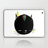 MIGHTY TIGARRR, BLACK KITTEN 묘 Laptop & iPad Skin