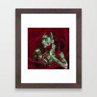Baroque Meets Oriental R… Framed Art Print
