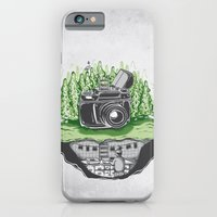 iPhone Cases featuring behind the scenes by Robert Richter