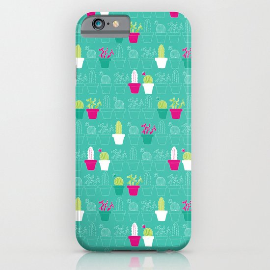 Mini Cactus Love iPhone & iPod Case