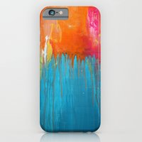 iPhone & iPod Case featuring Endless Summer - Abstract Painting by Liz Moran