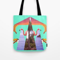 Off Shore Firework Show Tote Bag
