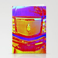 Do you want to ride in the backseat of my caddy? Stationery Cards