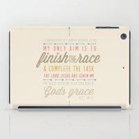Acts 20:24 iPad Case