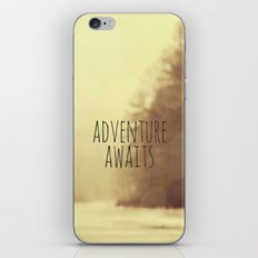 Adventure Awaits II iPhone & iPod Skin