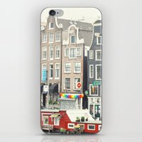 After The Rain - Amsterdam iPhone & iPod Skin