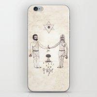 Tarot: VI - The Lovers iPhone & iPod Skin