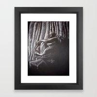 Woman 4 Framed Art Print