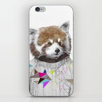 RED PANDA by Jamie Mitchell and Kris Tate iPhone & iPod Skin