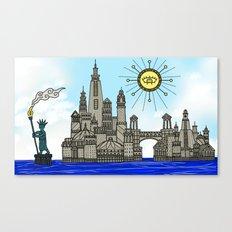 Old York City Canvas Print