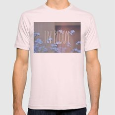 In Bloom Mens Fitted Tee Light Pink SMALL