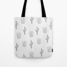 Cactus Pattern Tote Bag