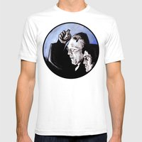 The Power of Christ Compels You Mens Fitted Tee White SMALL
