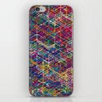 Cuben Network 2 iPhone & iPod Skin