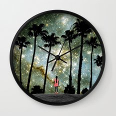 Paradise Galaxy Dream Wall Clock