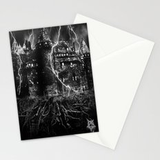 dark castle Stationery Cards