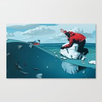 Staying Afloat Canvas Print