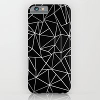 Abstraction Outline Black and White iPhone 6 Slim Case