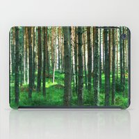 Green Forest iPad Case