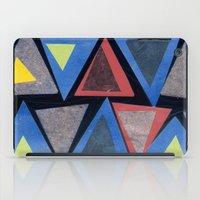 Collage Triangle Pattern iPad Case