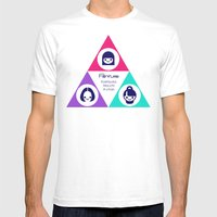 Perfume Unofficial T-Shi… Mens Fitted Tee White SMALL