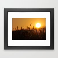 Apollo Sunset Framed Art Print