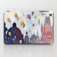Balloons at Charles Bridge iPad Case