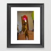 Dancing Patrick Framed Art Print