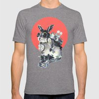Time Traveller Mens Fitted Tee Tri-Grey SMALL