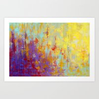 Delta Blues I Art Print