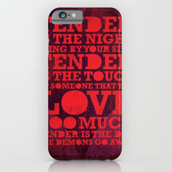 Tender  iPhone & iPod Case