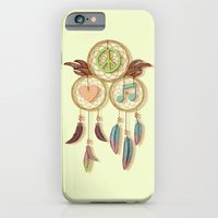 Peace, Love And Music iPhone 6 Slim Case