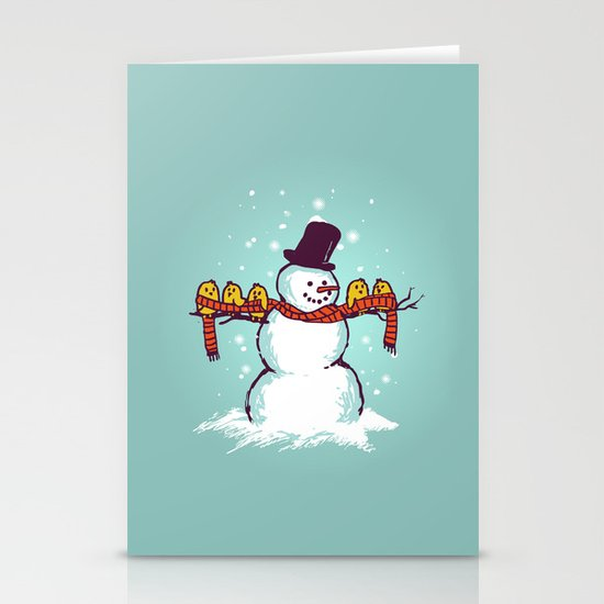 Sharing is caring (Winter edition) Stationery Card