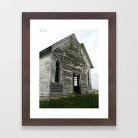 Abandoned Church Framed Art Print