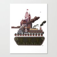 Military-Industrial Complex Canvas Print