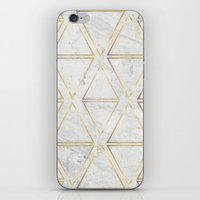 gOld rhombus iPhone & iPod Skin