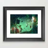 field work Framed Art Print