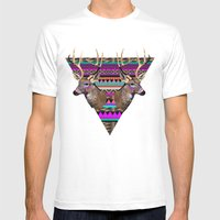 KEEPER OF MY SOUL▲ Mens Fitted Tee White SMALL