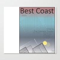 Best Coast Canvas Print