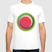 FUTURE GLOBES 002 Mens Fitted Tee White SMALL