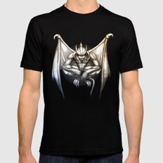 Gargoyle Mens Fitted Tee Black SMALL