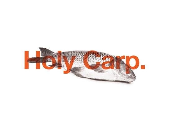 Holy Carp. Art Print