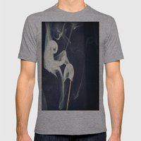 Smoke Mens Fitted Tee Athletic Grey SMALL